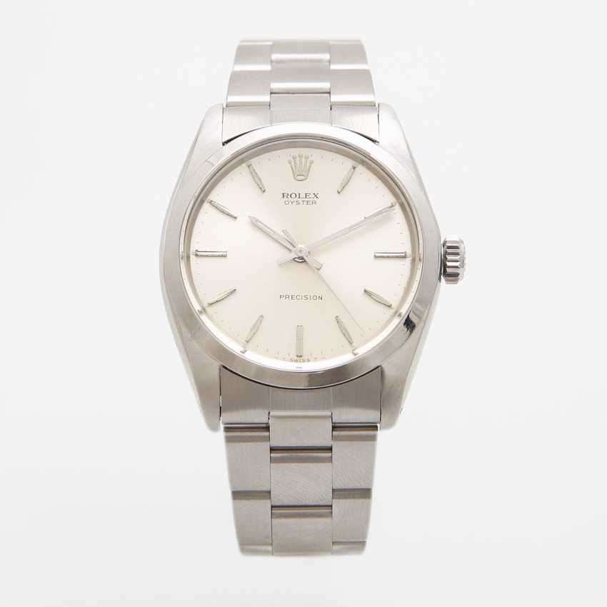 """ROLEX men's watch """"Oyster Precision"""", CA. 1966, stainless steel, Ref. 6426. - photo 1"""