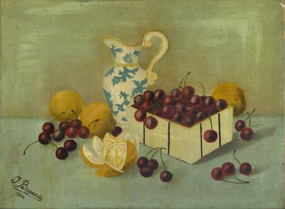 Still in 1904, life with fruits and a jug, - photo 1