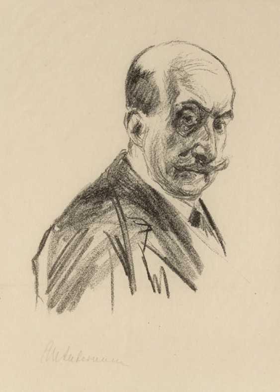 Автопортрет, 1913 - фото 1