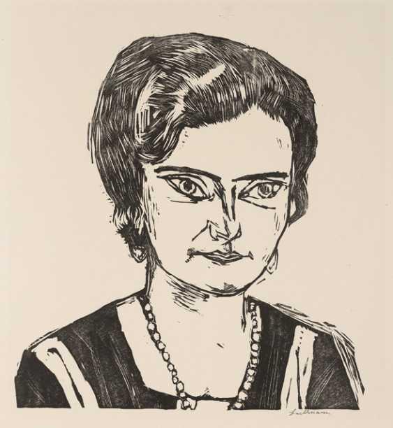 Bildnis Frau H. M. (Naila), 1923 - Foto 1