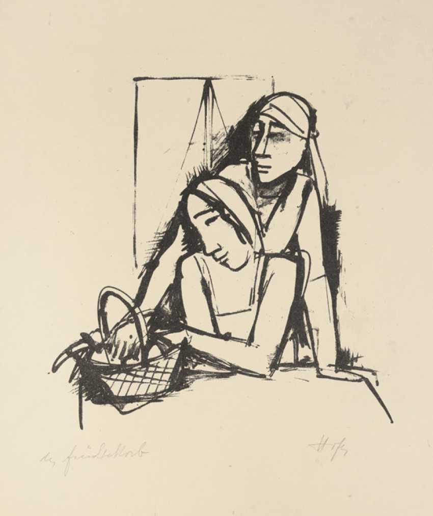 """""""Девушка с фруктами"""", около 1923 - фото 1"""