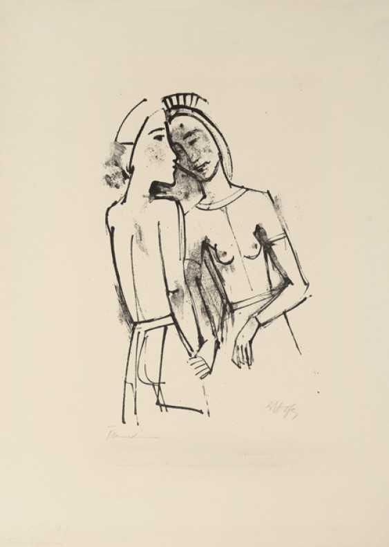 """""""Девушка с фруктами"""", около 1923 - фото 2"""
