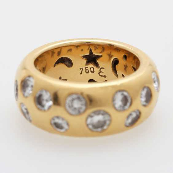 Ladies ring is completely paved with Diam.- Brilliant - photo 2