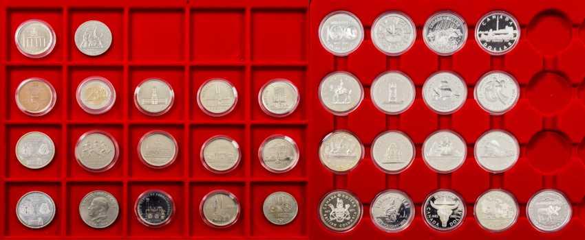 2 LINDNER Tableaus mit 17 Kanada Dollars - photo 1