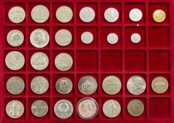 DDR collection - 29 coins from 1989/90, - photo 1
