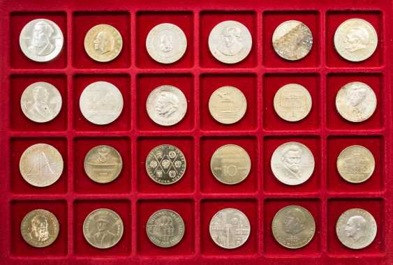 DDR collection - 24 coins from 1973/76, - photo 1
