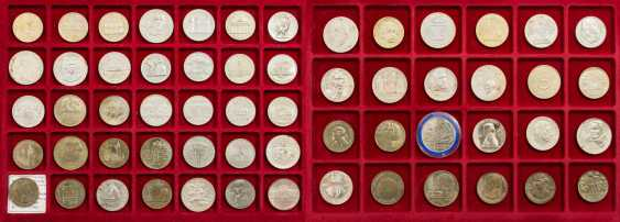 DDR mixed lot - 49 coins from 1977/87, - photo 1