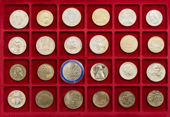 DDR mixed lot - 49 coins from 1977/87, - photo 2