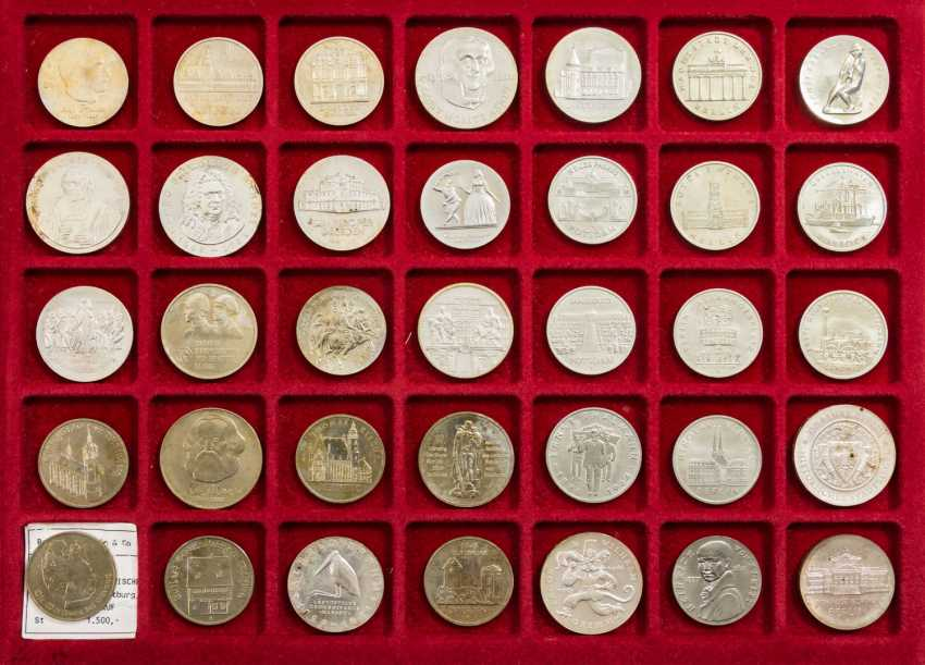 DDR mixed lot - 49 coins from 1977/87, - photo 3