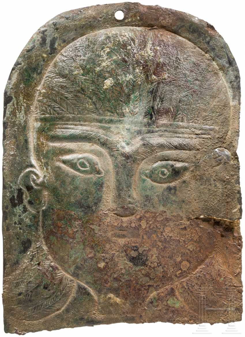 Finely engraved But with the head, urartäisch, 8. Century before Christ - photo 1