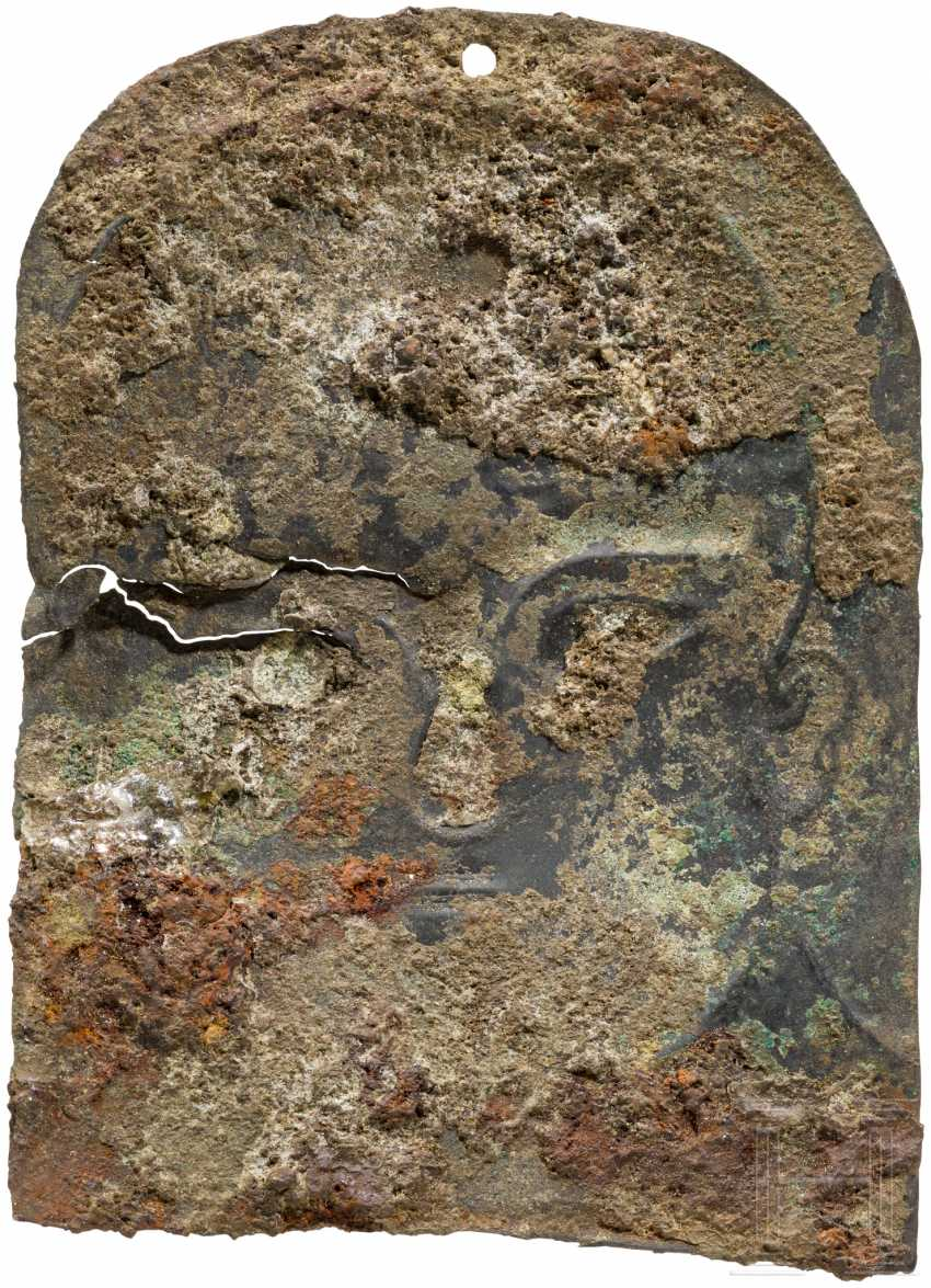 Finely engraved But with the head, urartäisch, 8. Century before Christ - photo 2