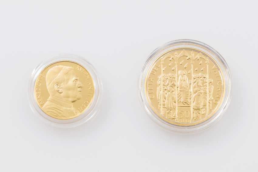 Vatican/GOLD - 50 euros + 20 euros in 2006, Pope Benedict XVI, - photo 1