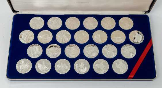 Discovery of America, silver coin collection, on the occasion of - photo 2