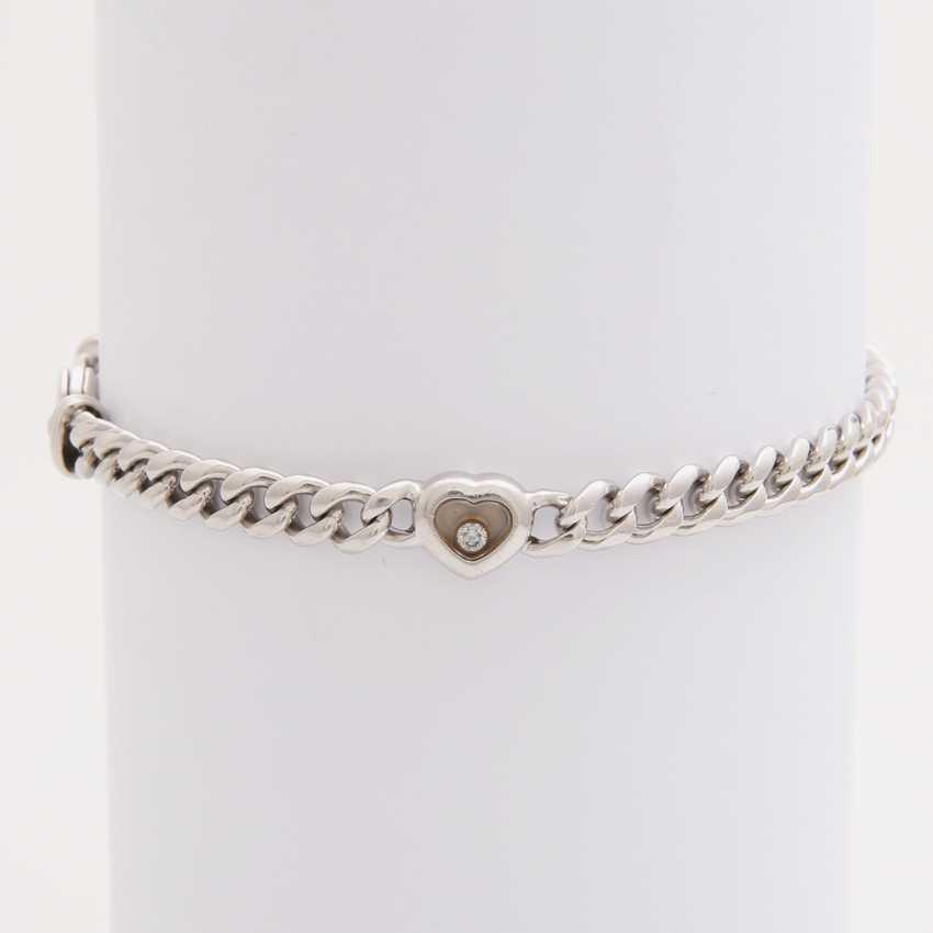 "CHOPARD tank bracelet - ""Happy Diamonds"" with 1-resilience. Brilliant - photo 1"