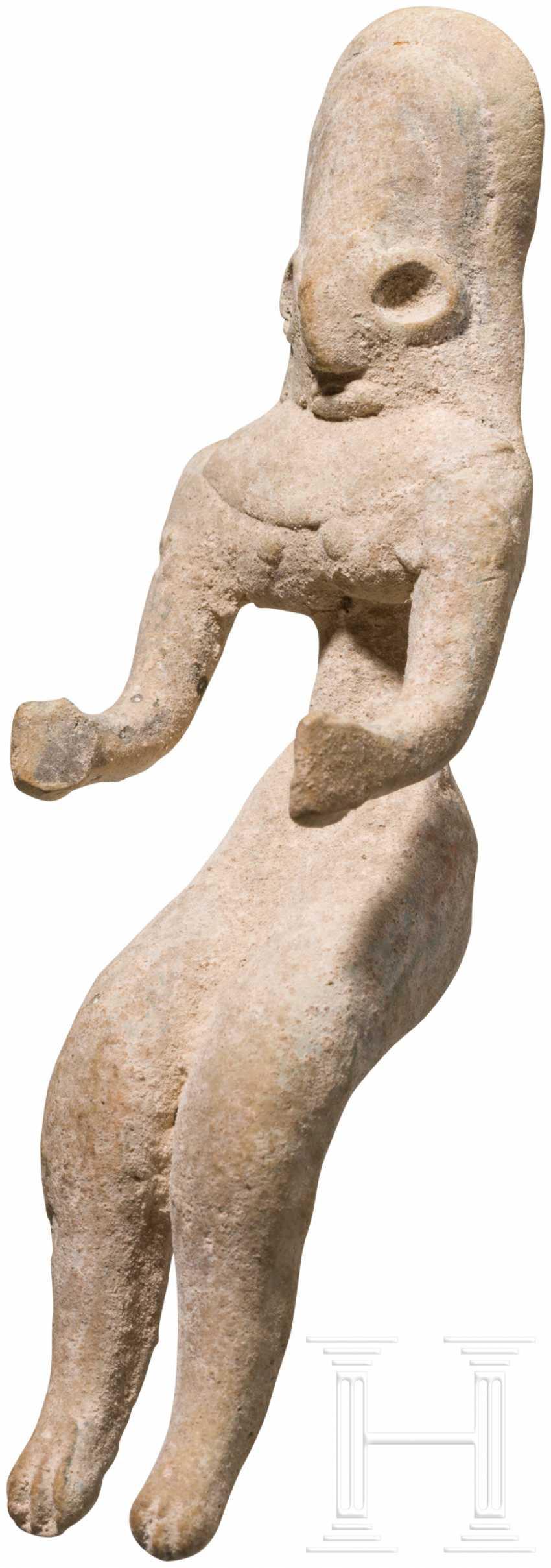 Женский Терракотовый Idol, Indus Valley Civilization, Пакистан-Северо-Западная Индия, 3. Тысячелетии до н. э. - фото 2