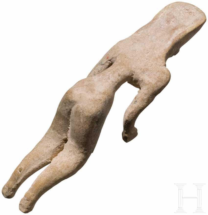 Женский Терракотовый Idol, Indus Valley Civilization, Пакистан-Северо-Западная Индия, 3. Тысячелетии до н. э. - фото 3