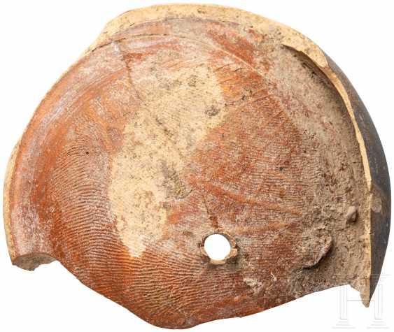 Лампады-фрагмент гладиатор с изображением, римо, 2. - 3. Века - фото 2