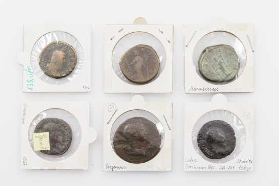 Ancient, ROM. Empire - Lot of 6 sesterces - photo 1