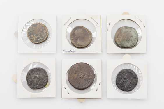 Ancient, ROM. Empire - Lot of 6 sesterces - photo 2