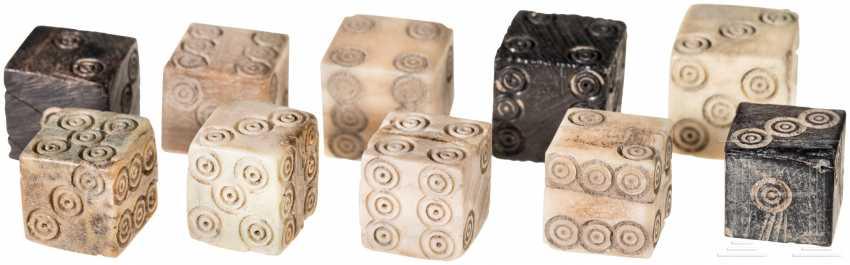 Десять кубиков, римо, 1. - 3. Века - фото 1