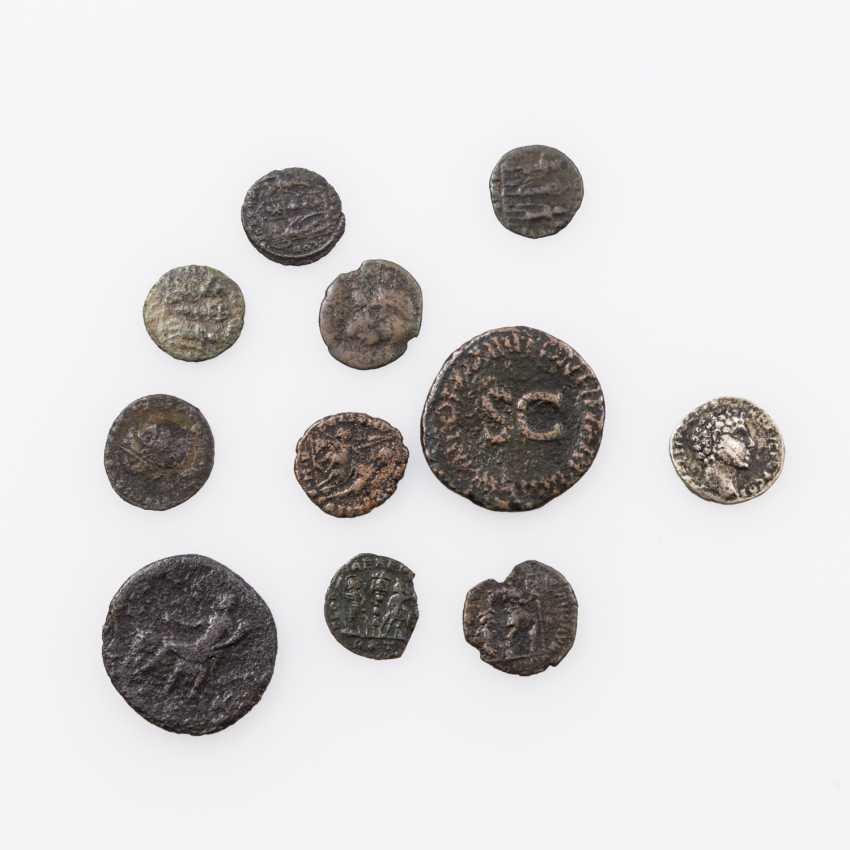 Small vintage Antique, for example, 1 x ROM. Imperial/Silver 1 Denar 2. Year hundertn.Chr., Marc Aurel, - photo 1