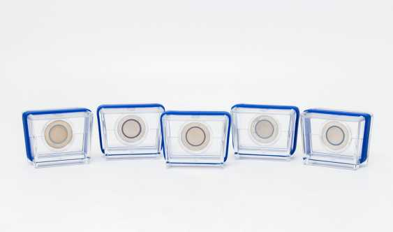 BRD - series, Blue Planet earth, 5 x 5 Euro, 2016, - photo 1