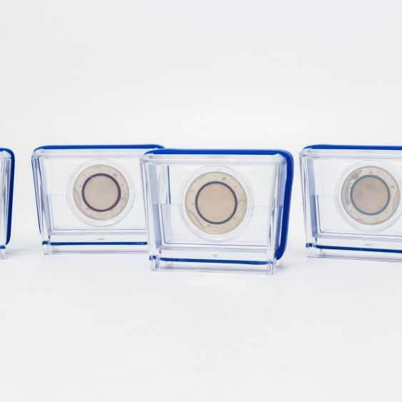 BRD - series, Blue Planet earth, 5 x 5 Euro, 2016, - photo 2