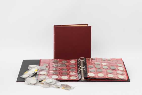 Pack with FRG commemorative coins, - photo 1