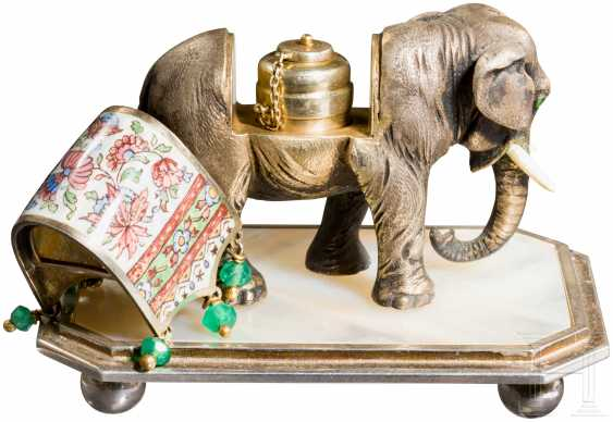 Spice shaker in the Form of an elephant, Vienna (?), around 1920 - photo 2