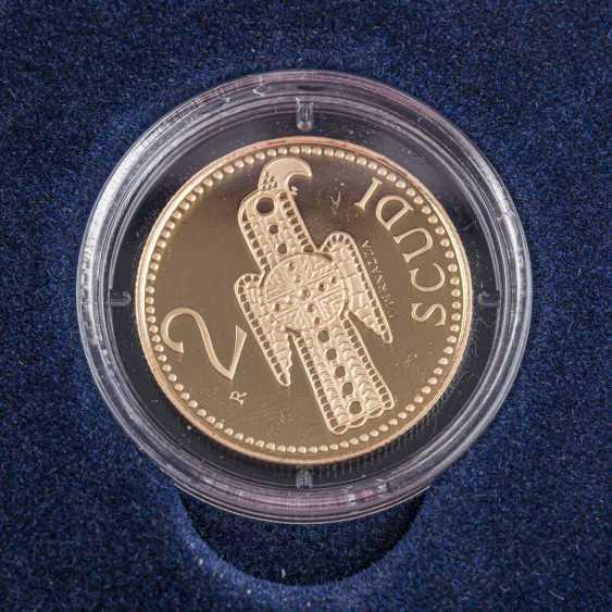 San Marino/GOLD - 2 Scudi 2004, - photo 2