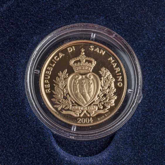 San Marino/GOLD - 2 Scudi 2004, - photo 3