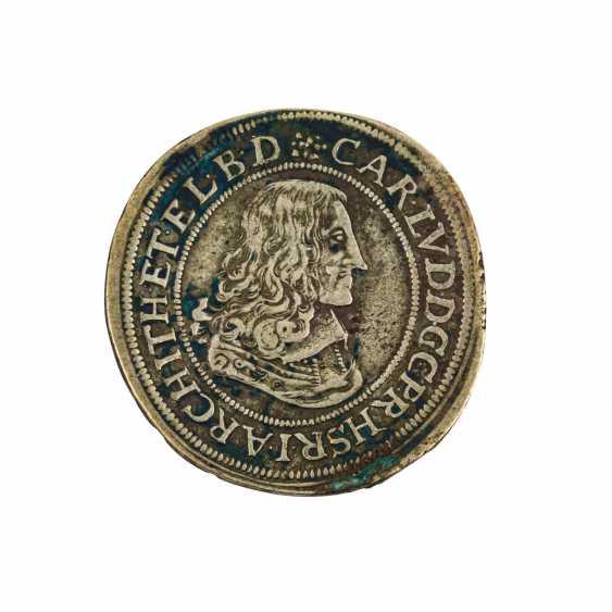Pfalz Kurlinie - 1/2 Gulden 1660 zu 30 Kreuzern, - Foto 1