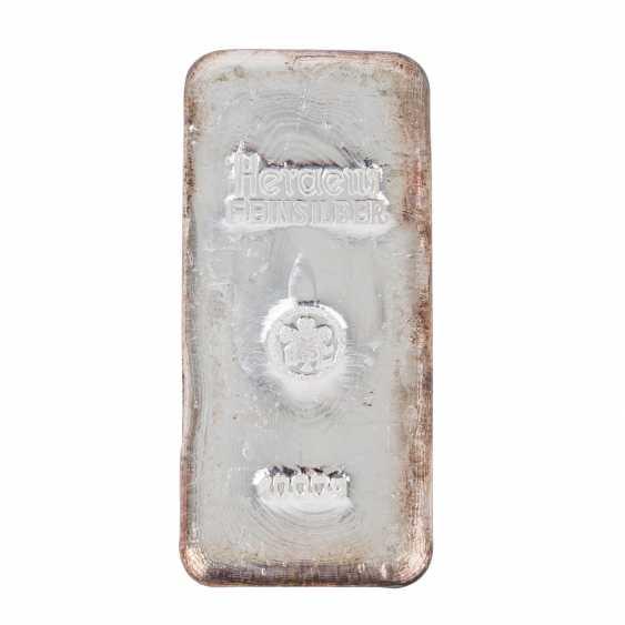 1 kg silver bullion, - photo 1