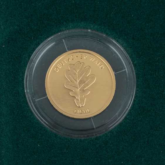 BRD/GOLD - Complete Set of 6 x 20 Euro-German forest, - photo 2