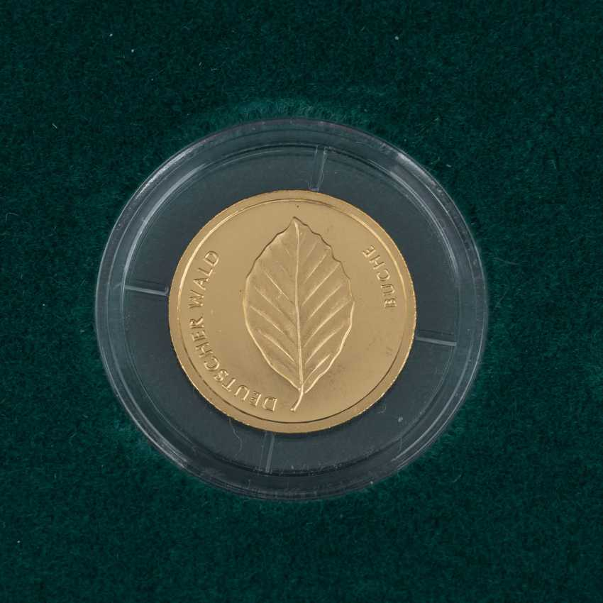 BRD/GOLD - Complete Set of 6 x 20 Euro-German forest, - photo 3