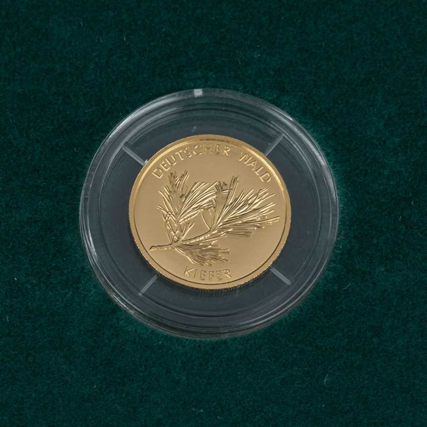 BRD/GOLD - Complete Set of 6 x 20 Euro-German forest, - photo 5