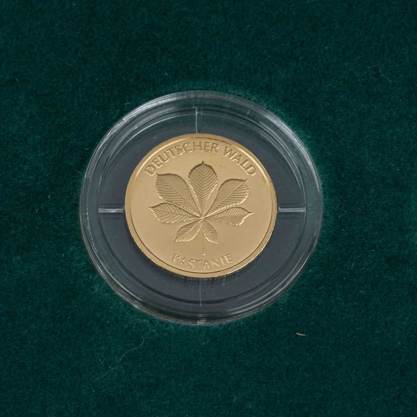 BRD/GOLD - Complete Set of 6 x 20 Euro-German forest, - photo 6