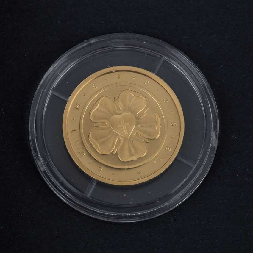 BRD/GOLD - 15 x 50-Euro gold coin 1/4 oz fine, - photo 3