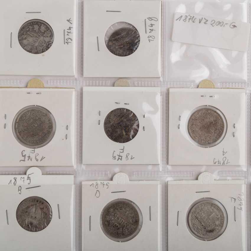 ДТ. Империя / III рейха – коллекция, среди прочего, 96 x ½ Марк, 120 x Mark 1, 76 x 2 RM, - фото 3