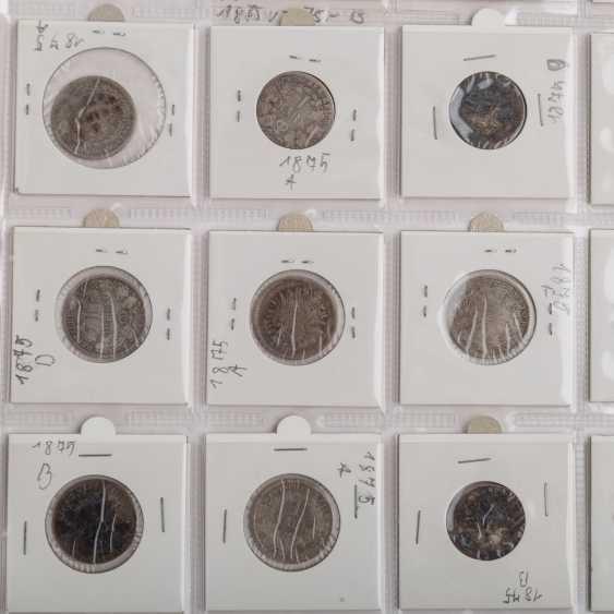 ДТ. Империя / III рейха – коллекция, среди прочего, 96 x ½ Марк, 120 x Mark 1, 76 x 2 RM, - фото 4