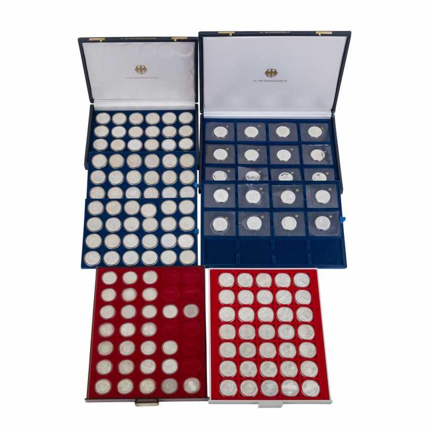 ФРГ - табло и коробки с памятные монеты, - фото 1