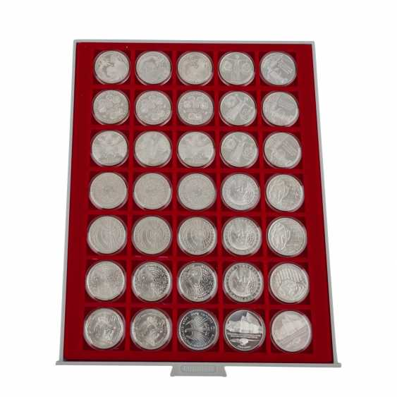 BRD - panels, and boxes with commemorative coins, - photo 2