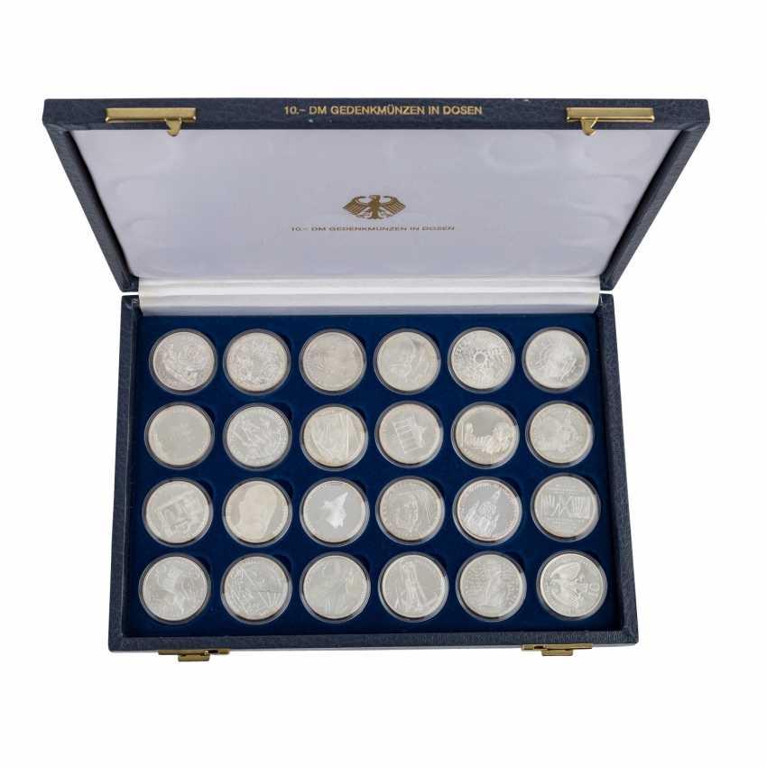 ФРГ - табло и коробки с памятные монеты, - фото 6