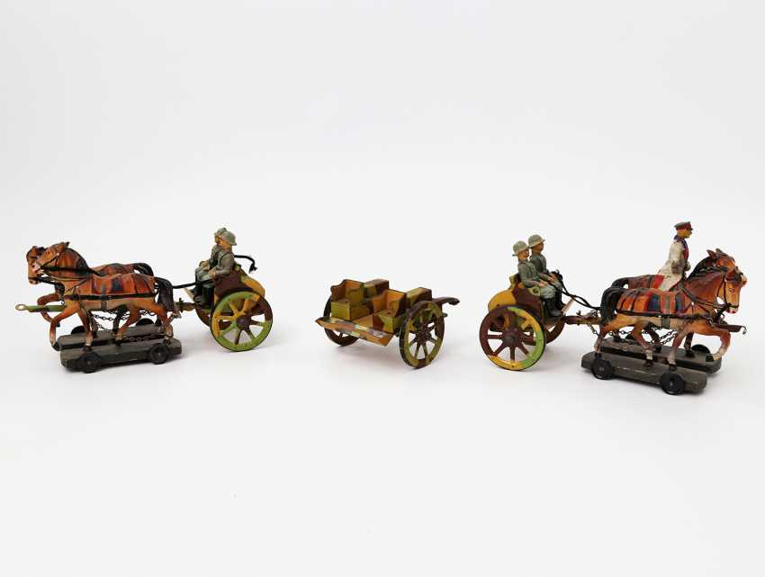Two Horse-Drawn Carriages, German Empire, - photo 2