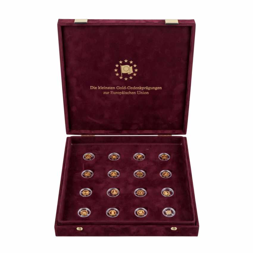The smallest Gold Commemorative coins for the European Union - - photo 1