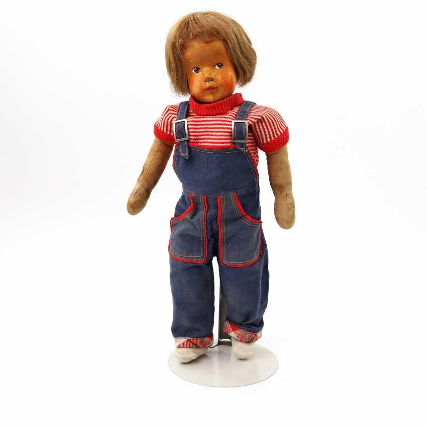 Well FEHRLE, ANNA/ WORKSHOP (Schwäbisch Gmünd 1892-1981) doll, 1950s, - photo 1