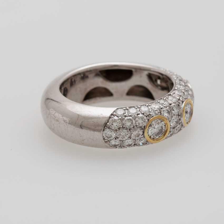 Ladies ring studded with Diam.- Brilliant - photo 2