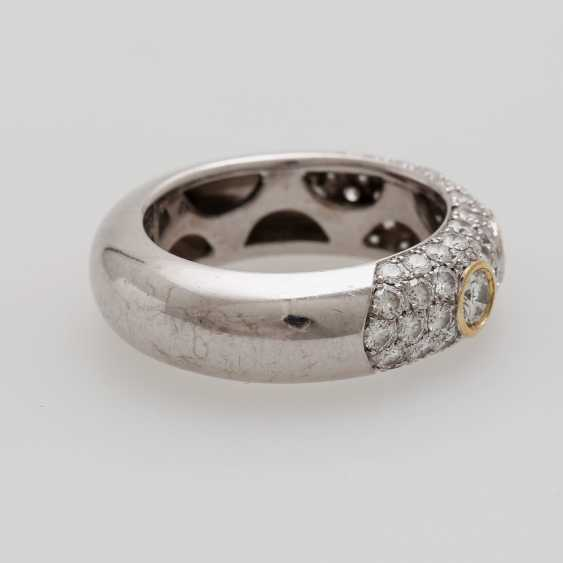 Ladies ring studded with Diam.- Brilliant - photo 4