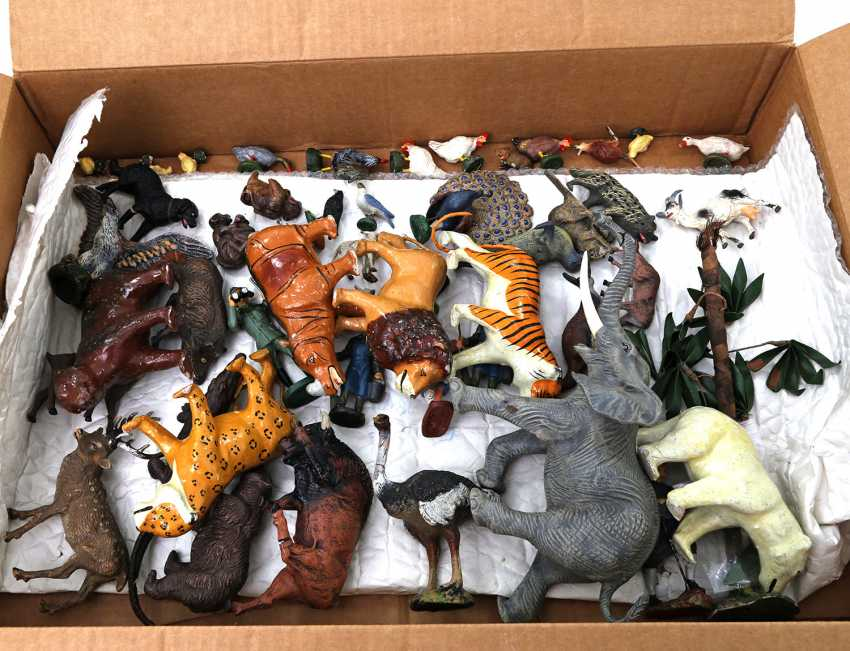 ELASTOLIN/ LINEOL, among other things, the lot of 48 figures, - photo 2