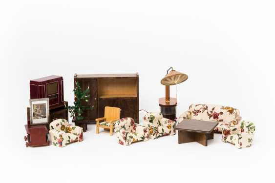 Living room furniture for the Dollhouse, 1930s/40s, - photo 1